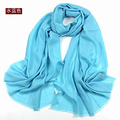 FLYRCX Soft and comfortable woolen scarf ladies multipurpose shawl 200cmx70cm